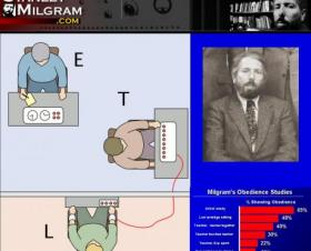 Milgram's obedience studies - not about obedience after all?