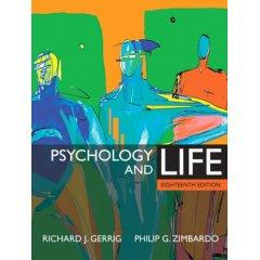 Psychology and Life 18/E